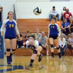 Girls Varsity Volleyball falls to vs 												Oberlin HS 3 – 2