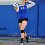 Girls Varsity Volleyball falls to Lutheran West 1 – 3