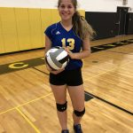 Girls Middle School Volleyball beats Black River M.S. 2 – 0