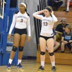 Girls Varsity Volleyball beats Brookside 3 – 0