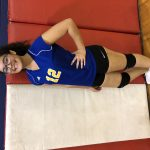 Girls Middle School Volleyball beats Durling Middle School 2 – 0