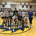Girls Varsity Volleyball beats vs Lutheran West HS 3 – 2