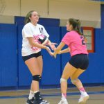 Volley for the Cure: Varsity vs Lutheran West (10-3-17)