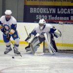 Coed Varsity Hockey beats vs Aurora HS 5 – 4
