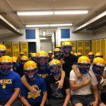 Football helmet grant