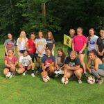 Girls Soccer Team Building