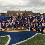 Middle School Football Team Wins PAC Stripes Division Championship Defeating Clearview 6-0