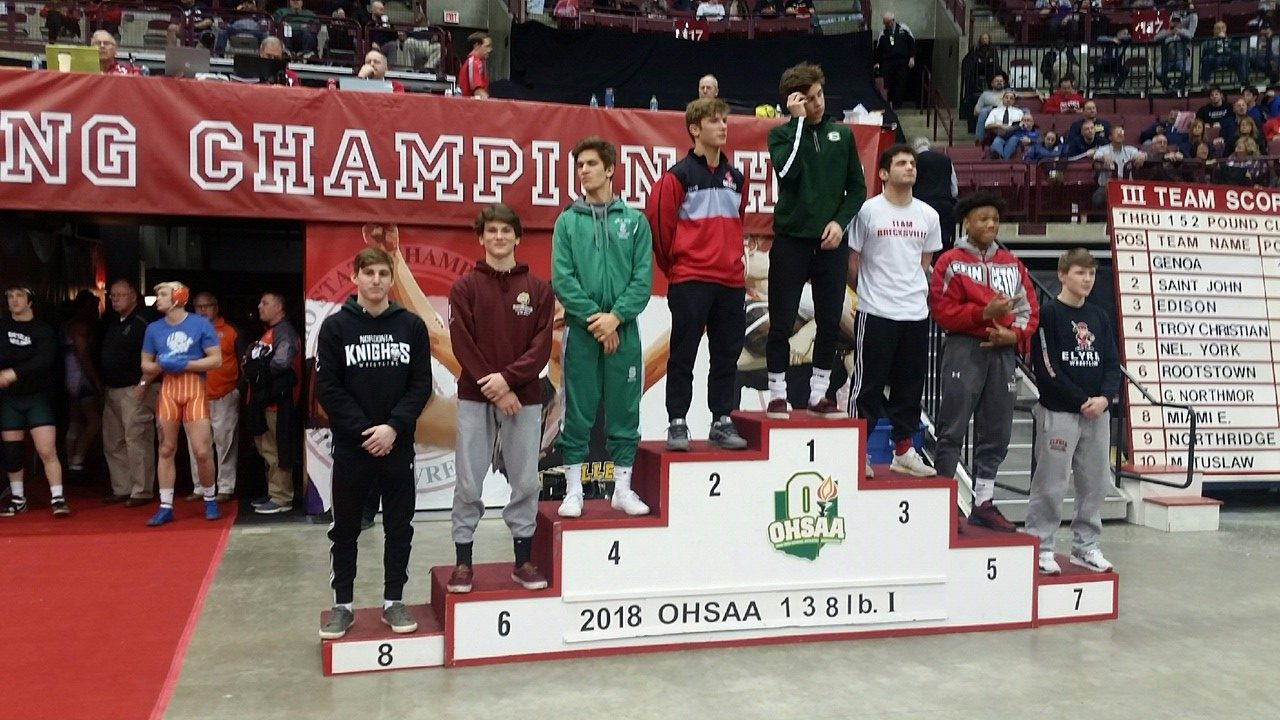Collica earns All Ohio