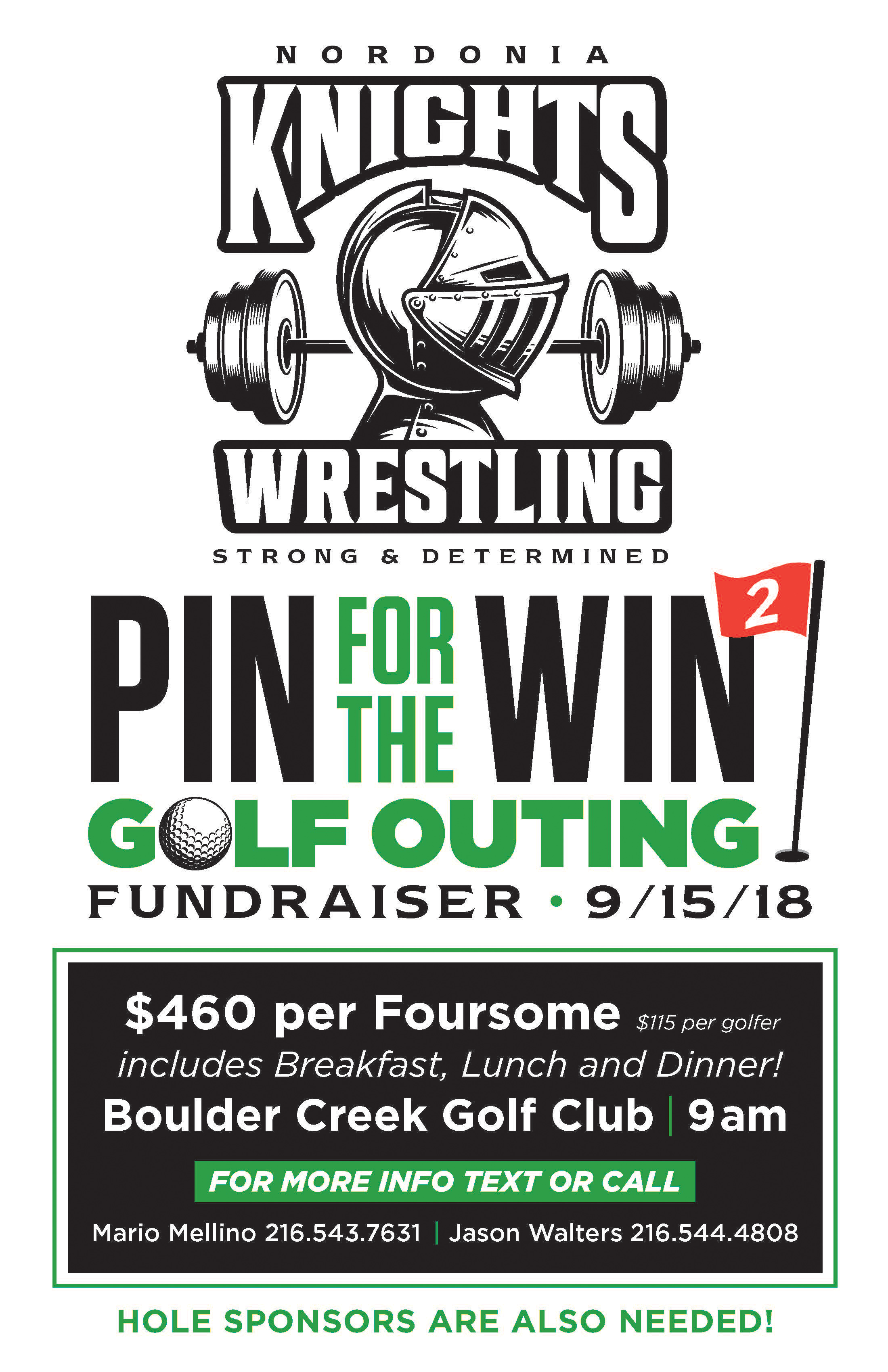 Wrestling Golf Outing