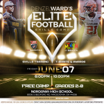 Denzel Ward Youth Football Camp