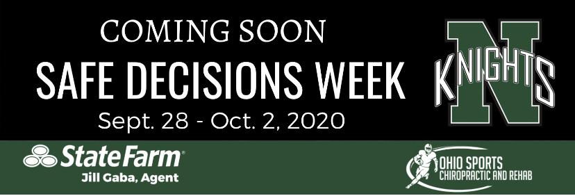 Safe Decisions Week Returns September 28-October 2
