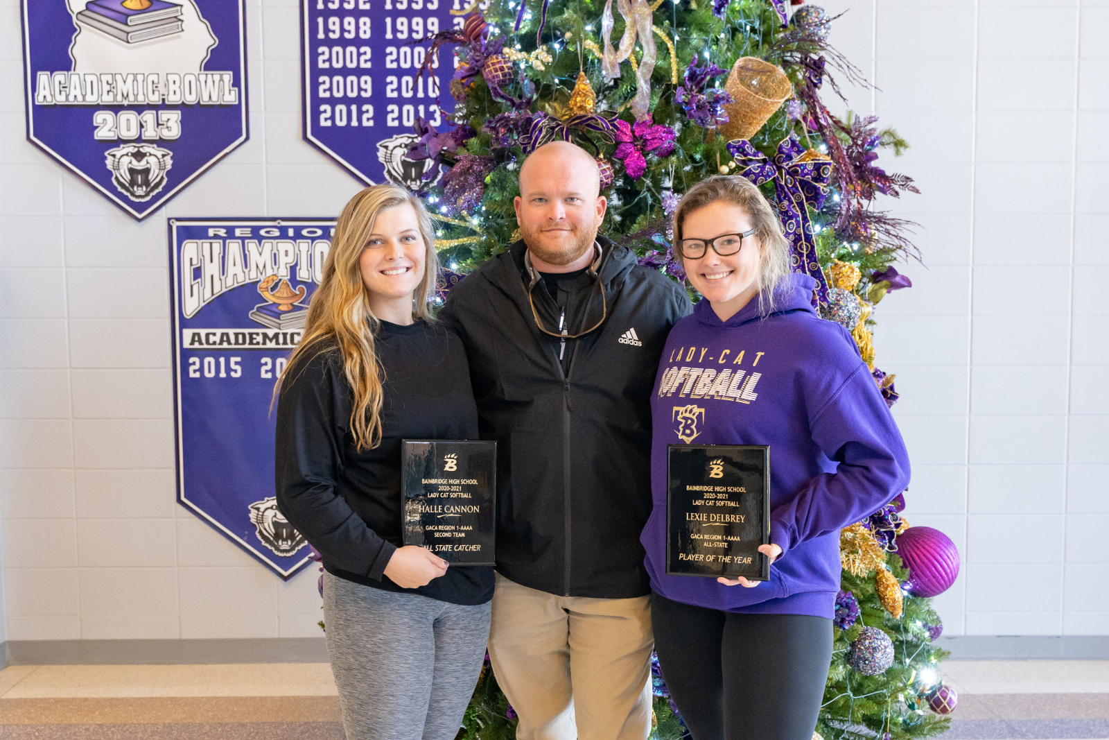 Lady Cat's Earn All State Recognition