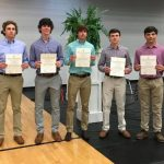 Bearcat Baseball Players Inducted into National Honor Society