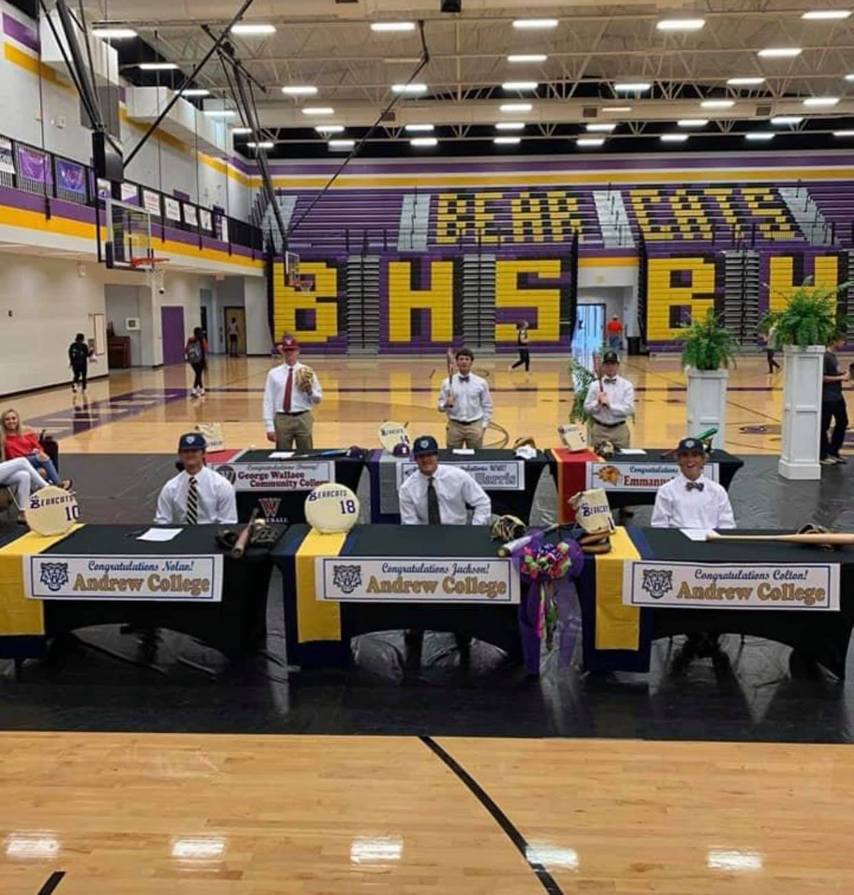 9 Bearcats Sign College Scholarships to Play at the next level