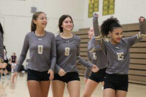 Freshmen Volleyball Photos