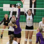 Railer Volleyball finishes 3rd at tough Derby Tournament