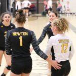 Varsity Volleyball Sweeps Final Regular Season Triangular