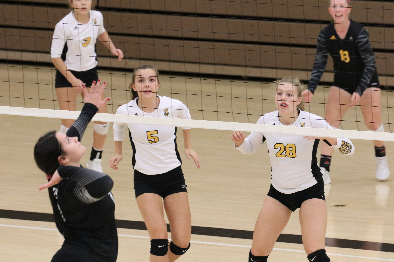 JV Volleyball Splits Final Matches of the Season