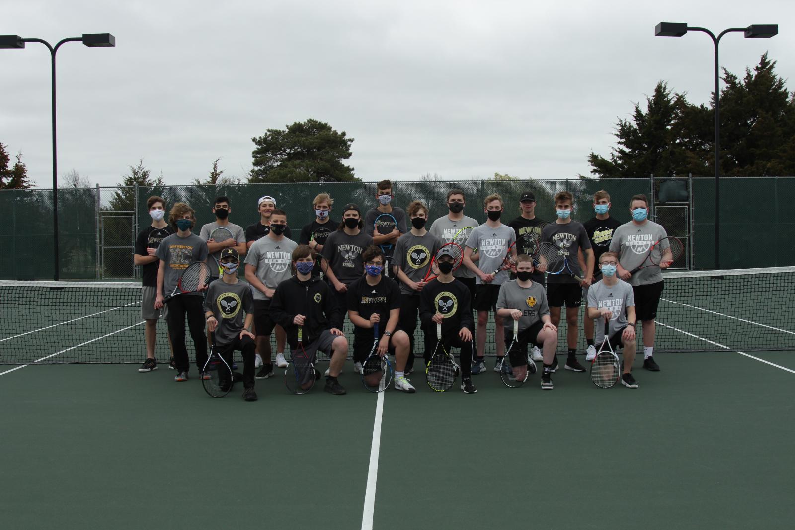 Railer Boys Tennis Has Successful First Week