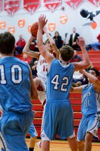 Freshman Boys Basketball vs. Garber