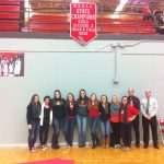 Girls Track and Field State Champions Honored