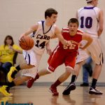Frankenmuth  Basketball Varsity Boys beats Caro  46-40