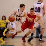 Frankenmuth  Basketball Varsity Boys beats Caro  46-40