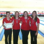 Girls Bowling All-Conference Honors!