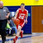Varisty Boys Basketball Battle Goodrich