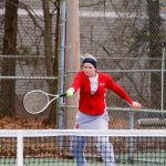 Girls Tennis Fights Through Cold Weather To Take On Chesaning