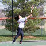 Girls Tennis Swings Their Way To A Big Win