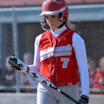 Frankenmuth High School Softball Varsity falls to Kearsley High School 2-3