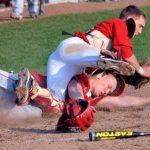 Frankenmuth High School Baseball Varsity beats Swan Valley High School 11-8