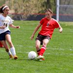 Frankenmuth High School Soccer Varsity Girls ties Birch Run High School 0-0