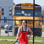Varsity Girls Tennis Battles It Out With Nouvel Catholic