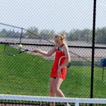Girls Tennis Finish 3rd @ TVC Tournament