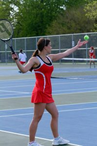 Girls Tennis vs. Clio