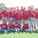 Frankenmuth High School Baseball Varsity beats Ithaca High School 17-5