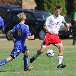 Frankenmuth High School Soccer Varsity Boys beats Caro High School 7-1