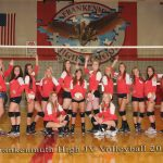 Frankenmuth High School Volleyball JV finishes 2nd place at @ Bay City Central Invite
