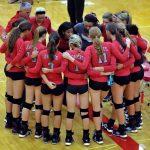Frankenmuth High School Volleyball Varsity beats Garber High School 3-0