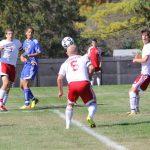 Frankenmuth High School Soccer Varsity Boys beats Heritage High School 3-2