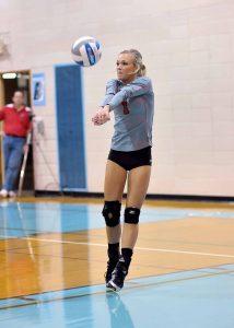 Varsity Volleyball vs. Garber