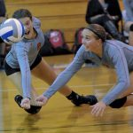 Frankenmuth High School Volleyball Varsity beats LakeVille High School 3-0