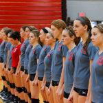 (Updated) Frankenmuth High School Volleyball Varsity finishes 1st place at Senior Night Quad