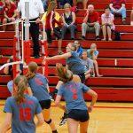Frankenmuth High School Volleyball Varsity beats Caro High School 3-0