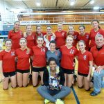 Frankenmuth High School Volleyball Varsity finishes 2nd place at Mt. Morris