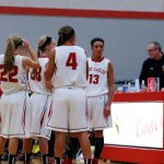 Frankenmuth High School Basketball Varsity Girls falls to Bullock Creek High School 32-44