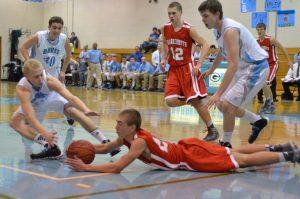 Boys Varsity Basketball vs. Garber