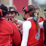 Frankenmuth High School Softball Varsity beats Hemlock High School 6-0
